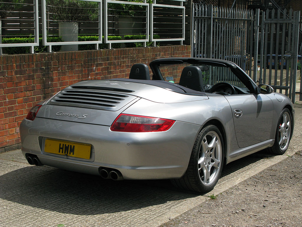 PORSCHE 997 CARRERA S CABRIOLET-MANUAL