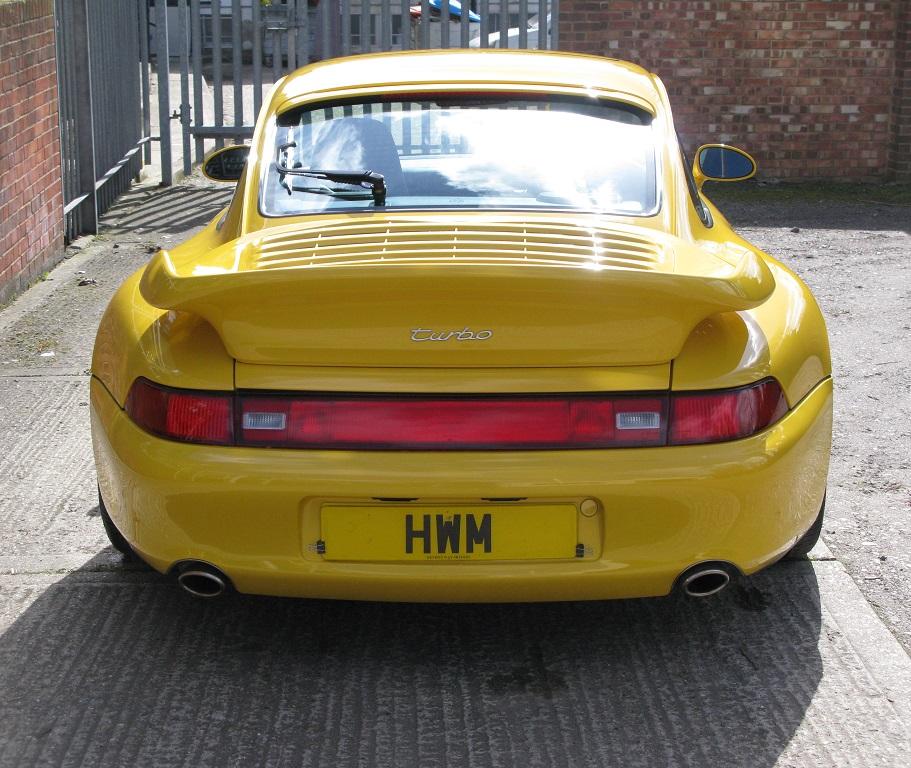 Porsche 993 Turbo: PORSCHE 993 TURBO COUPE