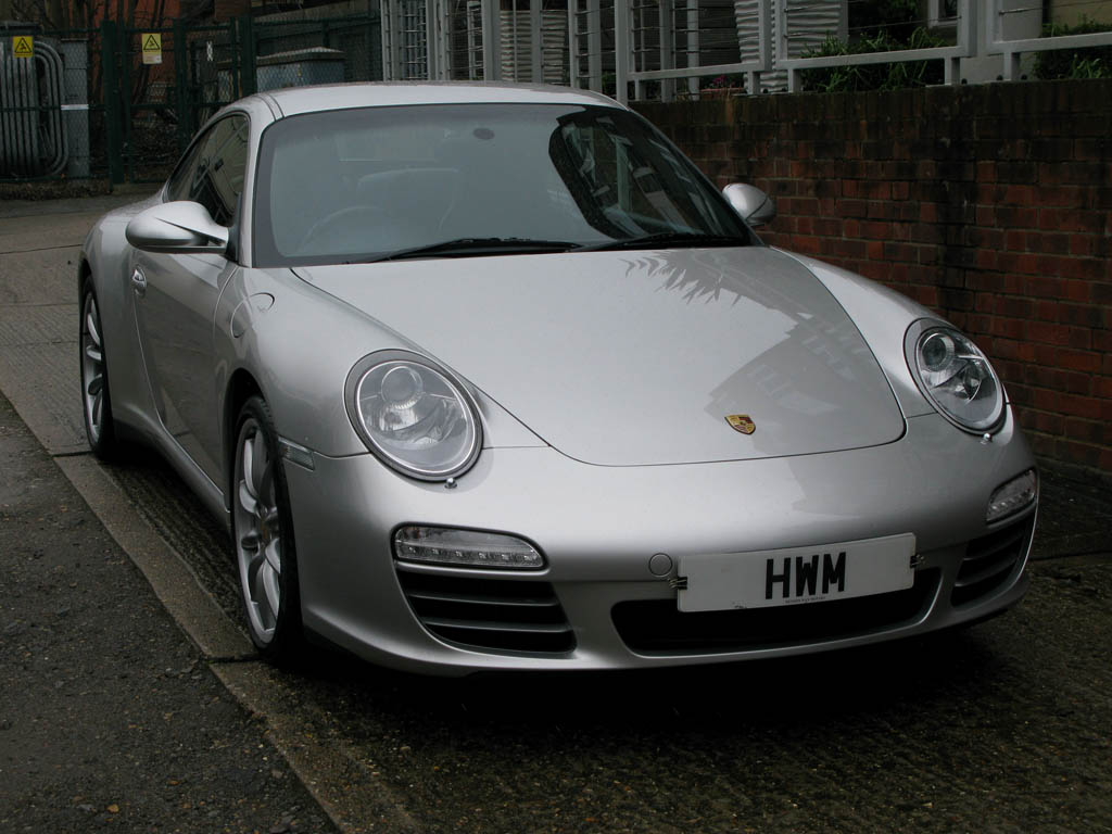 PORSCHE 997 GEN II C4S COUPE MANUAL