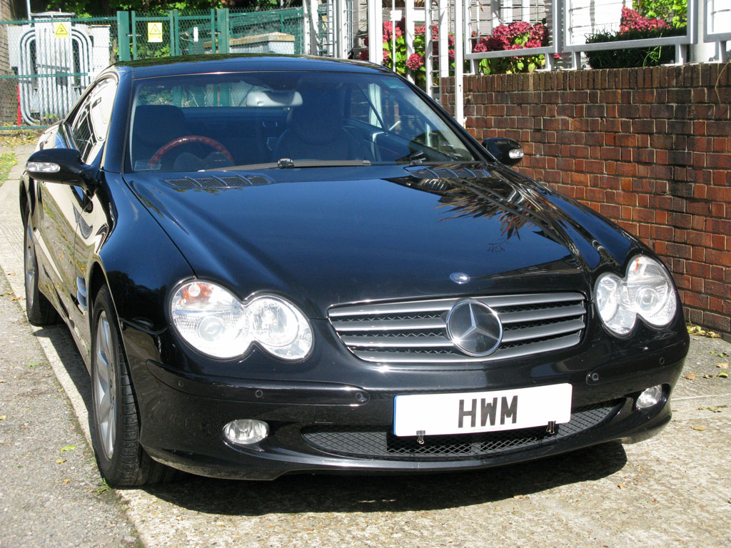MERCEDEZSL 500 TIPTRONIC