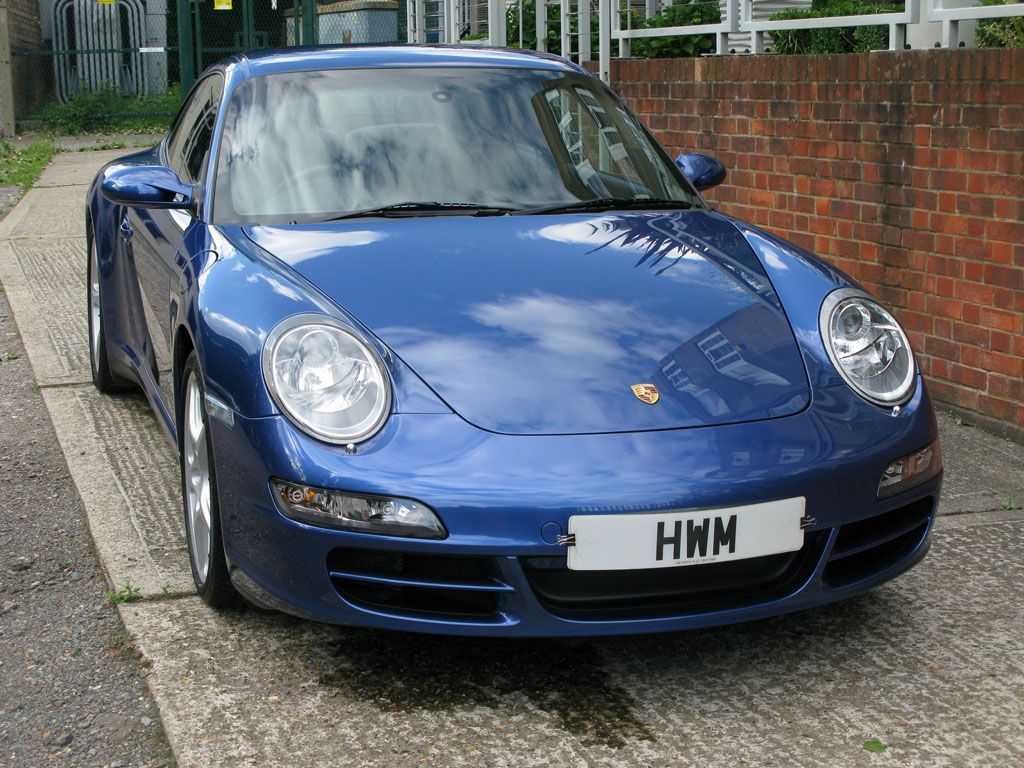PORSCHE997 C4S COUPE-MANUAL